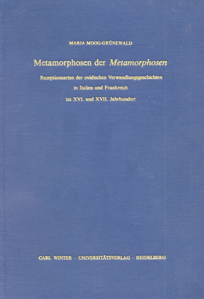 Metamorphosen der »Metamorphosen«
