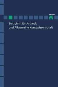 Zeitschrift für Ästhetik und Allgemeine Kunstwissenschaft